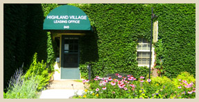 Front Office - Highland Village Apartments